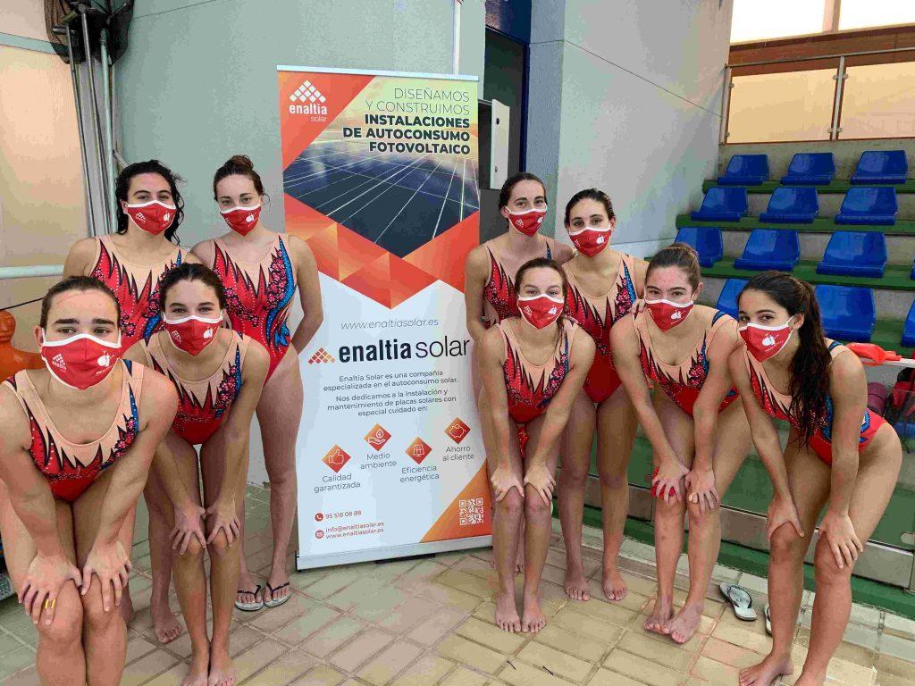 Ahora somos patrocinadores del Club de Natación sincronizada de Sevilla