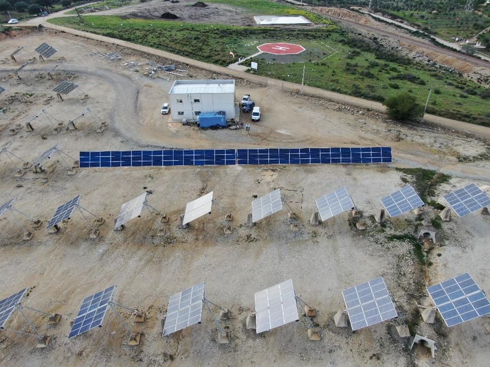 instalación fotovoltaica Amos SL en Calañas (Huelva)